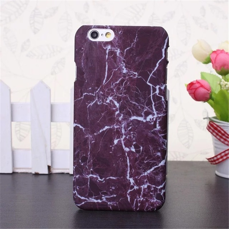 Image of   iPhone 7 Marmor Cover i rosa