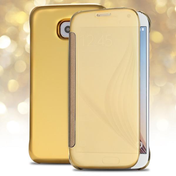 Billede af Hera Cover til Samsung Galaxy S6 Edge-Guld