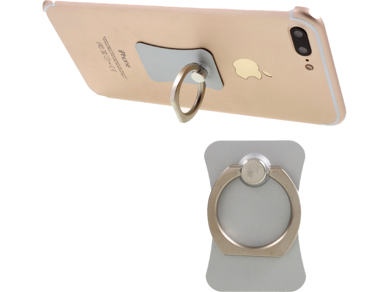 Image of   Ring-holder til iPhone og andre Smartphones-Sølv