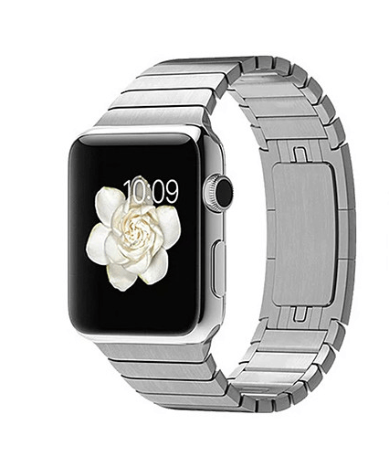 Image of   Ferrum Apple Watch rem i rustfrit stål - 42mm-Sølv