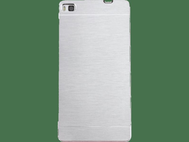 Image of   Delos Huawei P8 Alu cover-Sølv