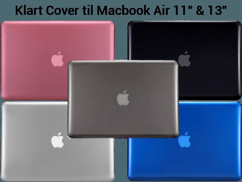 """Image of   Klart Cover til Macbook Air 13"""""""