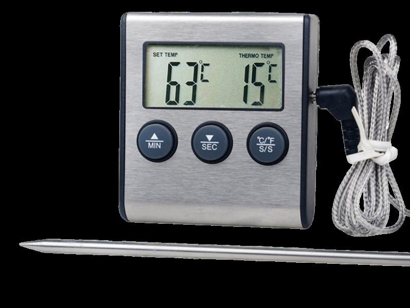 Image of   Digitalt Stegetermometer m. Timer