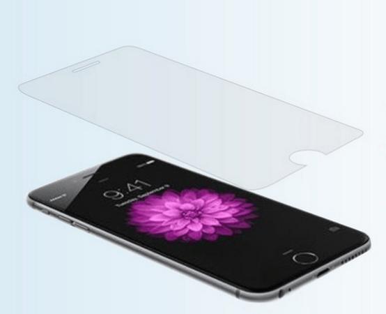 iPhone 6 / 6S beskyttelsesfilm / skærmbeskyttelse