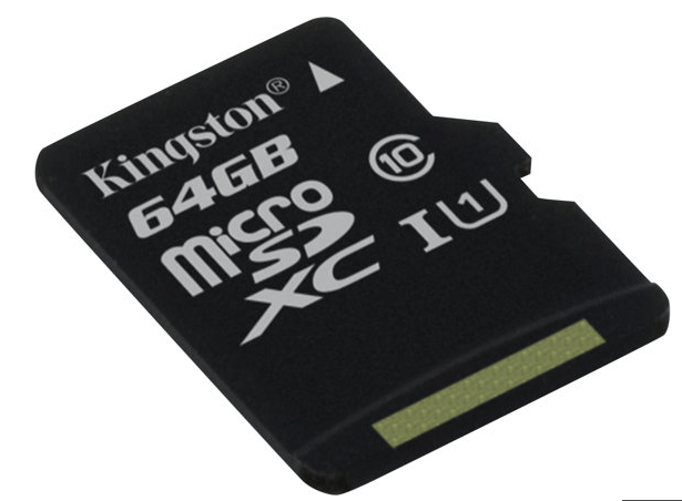 Image of   Kingston microSDXC 64GB Class 10 inkl adapter