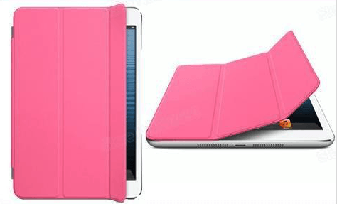 Front Cover til iPad Air-Pink