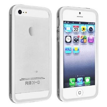 Bumper til iPhone 5 / 5S - Hvid