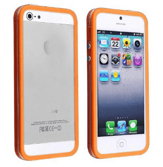 Bumper til iPhone 5 / 5S - Orange