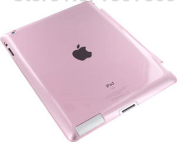 Crystal Cover til iPad 2 / 3 / 4-Pink