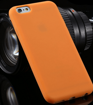 TPU iPhone 6 cover-Orange