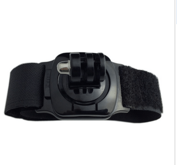 Wrist Strap mount m. 360° rotation & foring