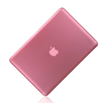 Klart Pink cover til Macbook Air 13""