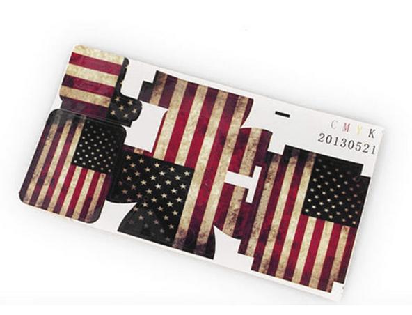 Billede af Klistermærke med flagmotiv til GoPro 3