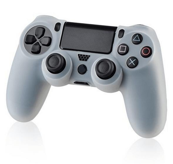 Silicone sleeve til PS4 controller hvid