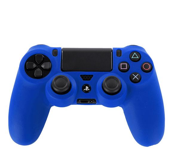 Silicone sleeve til PS4 controller - blå