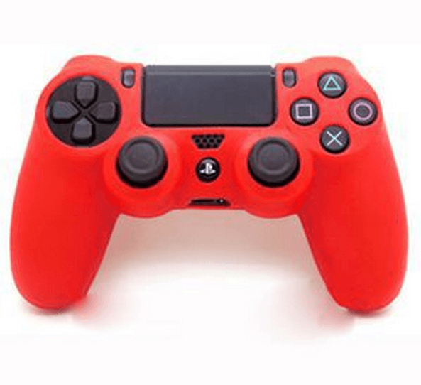 Silicone sleeve til PS4 controller - Rød