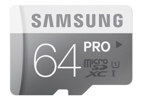Samsung Pro microSDXC 64GB Class 10 UHS-1