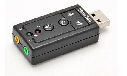 Billede af USB 7.1 Lydkort