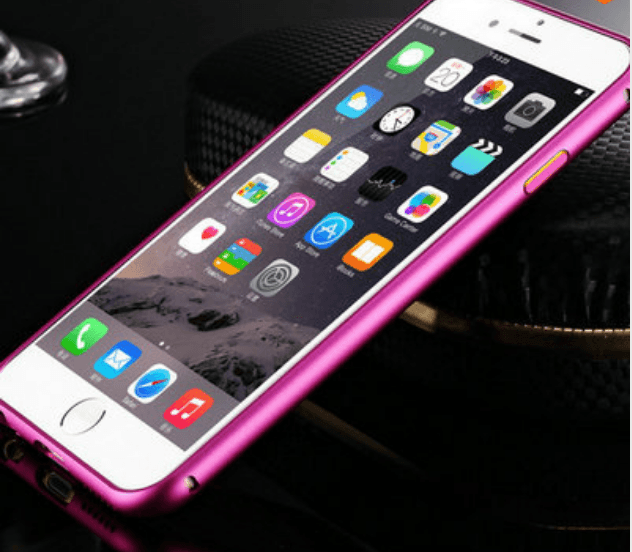 iPhone 6 Plus / 6S Plus aluminium bumper-Pink