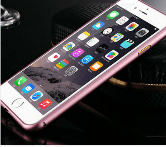 iPhone 6 Plus / 6S Plus aluminium bumper-Lilla