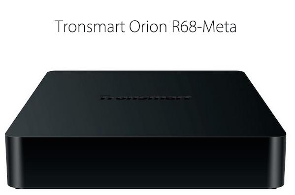 Tronsmart Orion R68 Meta Android Mediecenter / mini PC