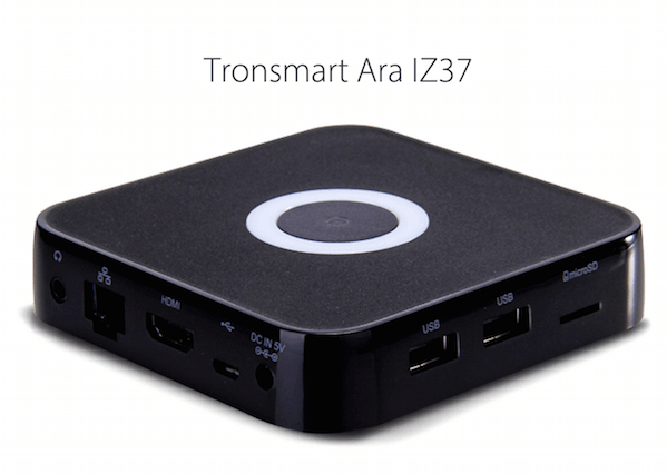 Tronsmart Ara IZ37 mini PC med Android & Windows 10 Dual OS