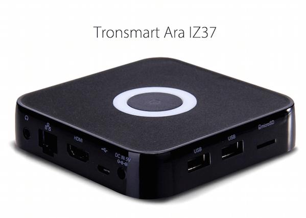 Tronsmart Ara IZ37 mini PC med Android & Windows 10 Dual OS