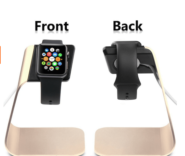 Image of   Atatus Apple Watch Stand i Guld Aluminium