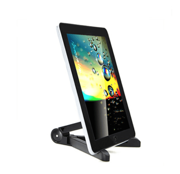 Foldbar holder / stand til iPad, Kindle & Tablets