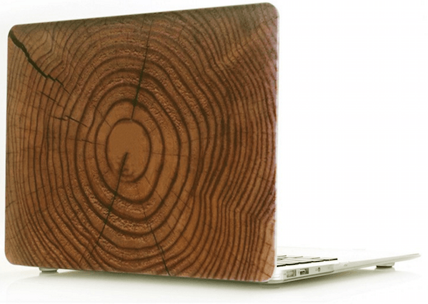 Teak Træ Cover til Macbook Pro 13""