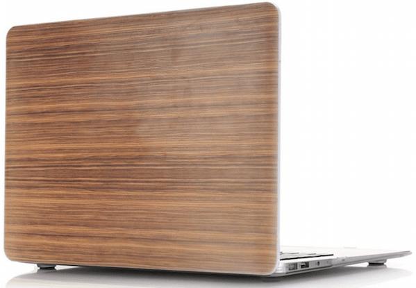 "Image of   Macbook Air 13"" Valnød Træ Cover"
