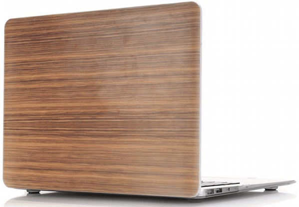 Walnut Wood Cover til Macbook Pro Retina 15""