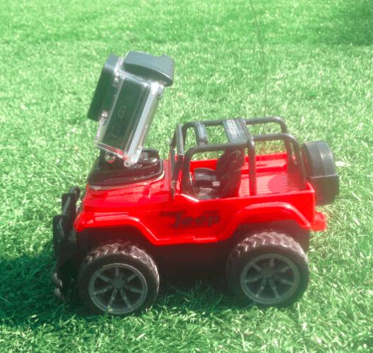 Image of   Fjernstyret bil til GoPro
