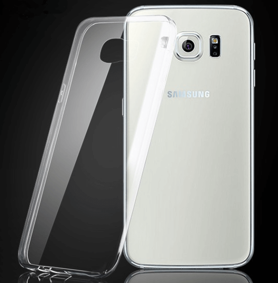 Image of   Transparent cover til Samsung Galaxy S6