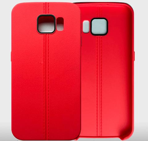 Billede af Eos cover til Samsung Galaxy S7 Edge-Rød