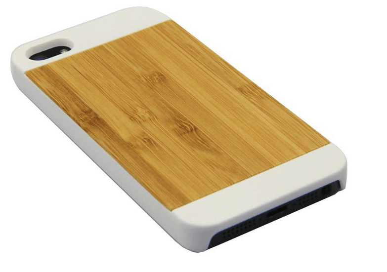 Træ cover til iPhone 5/5s/SE-Lysebrun