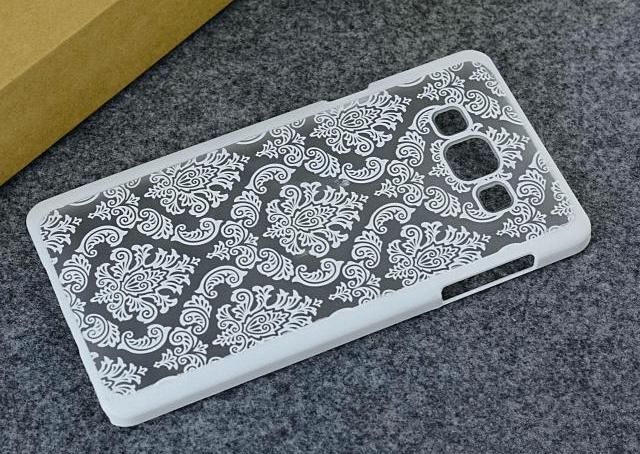 Metis Cover med mønster til Samsung Galaxy S6 -Hvid
