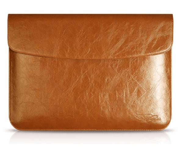 Dublin brunt læder sleeve 13″