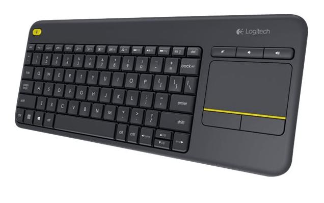 Logitech K400Plus trådløst tastatur m.Nordisk layout