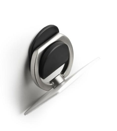 Vægholder til iPhone og smartphone -Sort