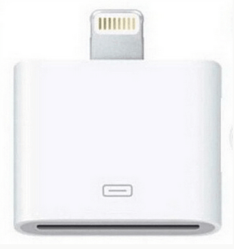 iPhone 4 til iPhone 5 / 6 / 7 adapter u/lyd