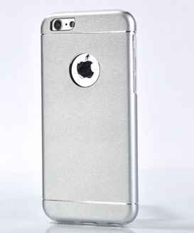 Sølv iPhone 6 / 6S Aluminium + TPU Cover