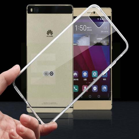 Billede af Huawei P8 Lite Gennemsigtigt cover