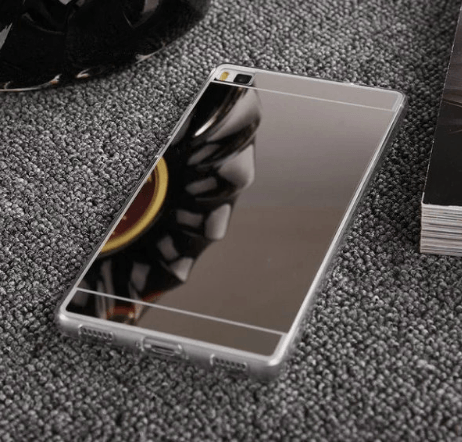 Image of   Chios Huawei P8 Lite cover-Sølv