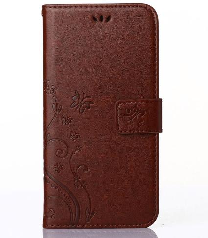 Paros Huawei P9 Flip Cover -Brun
