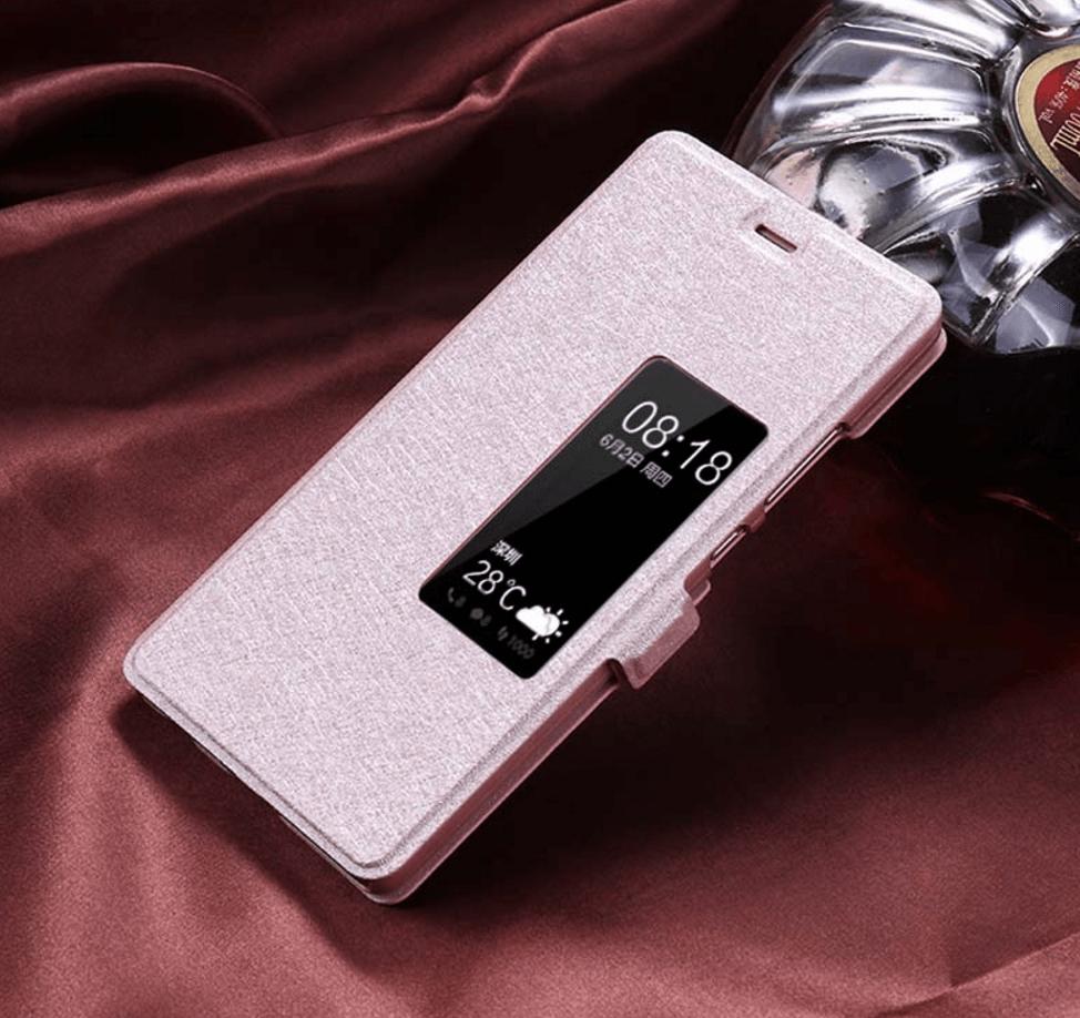 Billede af Halloumi Huawei P9 Flip Cover-Pink
