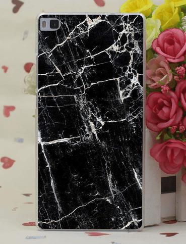 Marmor cover til Huawei P9-Sort