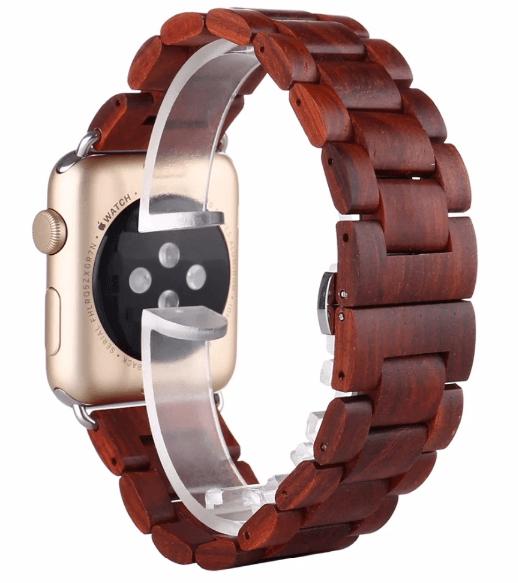 Apple Watch rem i Træ-Brun-38 mm