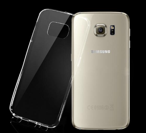 Ceres Transparent TPU Cover til Samsung Galaxy S6 Edge