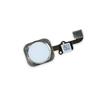 Image of   iPhone 6 Hjem-knap med Kabel-Hvid